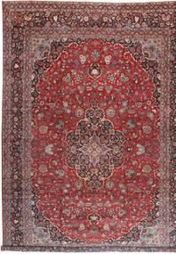 Keshan Matto 360X527 Itämainen Käsinsolmittu Tummanpunainen/Vaaleanvioletti Isot (Villa, Persia/Iran)