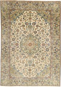 Najafabad Patina Matto 187X265 Itämainen Käsinsolmittu Vaaleanruskea/Vaaleanharmaa (Villa, Persia/Iran)