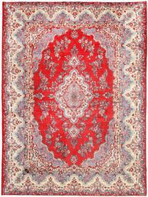 Kerman Matto 270X370 Itämainen Käsinsolmittu Vaaleanharmaa/Beige Isot (Villa, Persia/Iran)