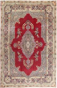 Yazd Patina Matto 240X368 Itämainen Käsinsolmittu Tummanpunainen/Ruskea (Villa, Persia/Iran)