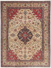 Tabriz Patina Matto 225X332 Itämainen Käsinsolmittu Vaaleanruskea/Tummanruskea (Villa, Persia/Iran)