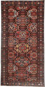 Bakhtiar Patina Matto 150X300 Itämainen Käsinsolmittu Käytävämatto Tummanpunainen/Musta (Villa, Persia/Iran)