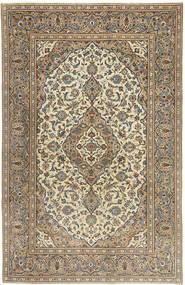 Keshan Patina Matto 192X298 Itämainen Käsinsolmittu Vaaleanharmaa/Vaaleanruskea (Villa, Persia/Iran)