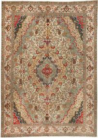 Tabriz Patina Matto 300X422 Itämainen Käsinsolmittu Ruskea/Vaaleanruskea Isot (Villa, Persia/Iran)