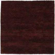 New York - Wine Matto 250X250 Moderni Neliö Tummanruskea Isot (Villa, Intia)