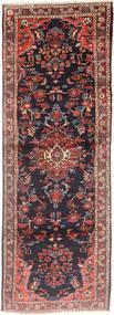 Hamadan Matto 105X300 Itämainen Käsinsolmittu Käytävämatto Tummanpunainen/Tummansininen (Villa, Persia/Iran)