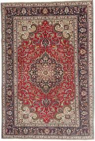 Tabriz Patina Matto 200X305 Itämainen Käsinsolmittu Tummanpunainen/Tummanruskea (Villa, Persia/Iran)
