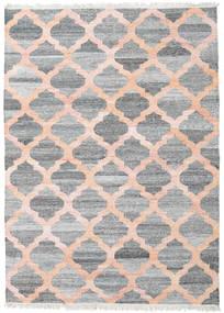 Ulkomatto Kathi - Harmaa/Coral Matto 170X240 Moderni Käsinkudottu Vaaleanharmaa/Vaaleanpunainen ( Intia)
