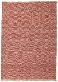 Ulkomatto Jaque Jute Matto 170X240 Moderni Käsinkudottu Tummanpunainen/Ruskea (Juuttimatto Intia)