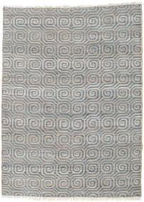 Ulkomatto Thar Jute Matto 170X240 Moderni Käsinkudottu Vaaleanharmaa/Sininen (Juuttimatto Intia)