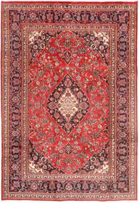 Mashad Matto 198X295 Itämainen Käsinsolmittu Ruoste/Tummanpunainen (Villa, Persia/Iran)