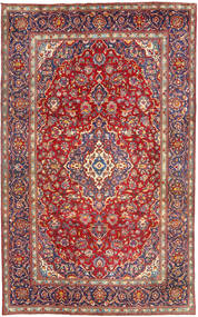 Yazd Matto 198X315 Itämainen Käsinsolmittu Tummanpunainen (Villa, Persia/Iran)