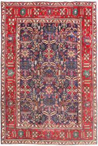 Tabriz Matto 194X290 Itämainen Käsinsolmittu Tummanpunainen/Beige (Villa, Persia/Iran)