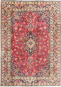 Tabriz Matto 197X288 Itämainen Käsinsolmittu Beige/Tummanharmaa (Villa, Persia/Iran)