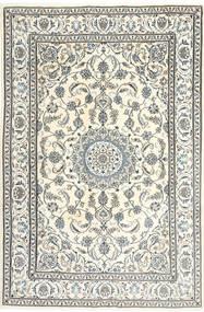 Nain Matto 195X300 Itämainen Käsinsolmittu Beige/Vaaleanharmaa/Tummanharmaa (Villa, Persia/Iran)