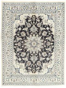 Nain Matto 145X196 Itämainen Käsinsolmittu Vaaleanharmaa/Beige (Villa, Persia/Iran)