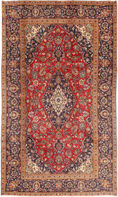 Keshan Matto 185X320 Itämainen Käsinsolmittu Tummanpunainen/Ruoste (Villa, Persia/Iran)