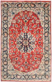 Najafabad Matto 205X330 Itämainen Käsinsolmittu Tummanruskea/Ruoste (Villa, Persia/Iran)