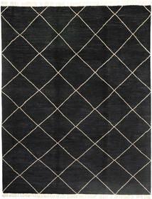 Barchi/Moroccan Berber - Pakistan Matto 240X308 Moderni Käsinsolmittu Musta (Villa, Pakistan)