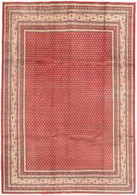 Sarough Mir Matto 215X310 Itämainen Käsinsolmittu Ruskea/Pinkki (Villa, Persia/Iran)