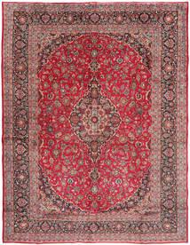 Mashad Matto 293X385 Itämainen Käsinsolmittu Tummanpunainen/Ruskea Isot (Villa, Persia/Iran)