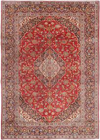 Najafabad Matto 270X380 Itämainen Käsinsolmittu Tummanpunainen/Vaaleanruskea Isot (Villa, Persia/Iran)