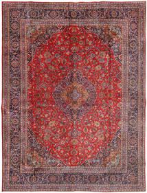 Mashad Matto 300X400 Itämainen Käsinsolmittu Tummanpunainen/Vaaleanvioletti Isot (Villa, Persia/Iran)
