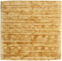 Tribeca - Kulta Matto 250X250 Moderni Neliö Vaaleanruskea/Keltainen Isot ( Intia)