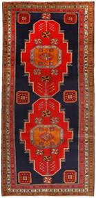 Ardebil Matto 156X327 Itämainen Käsinsolmittu Käytävämatto Ruoste/Tummanruskea (Villa, Persia/Iran)