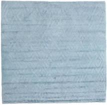 Soho Soft - Sky Sininen Matto 250X250 Moderni Neliö Vaaleansininen Isot (Villa, Intia)