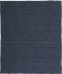 Kelim Loom - Denim Sininen Matto 0X0 Moderni Käsinkudottu Tummansininen/Sininen (Villa, Intia)