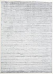 Bamboo Silkki Loom - Harmaa Matto 250X350 Moderni Valkoinen/Creme/Vaaleanharmaa Isot ( Intia)