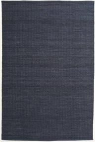 Alva - Sininen/Musta Matto 200X300 Moderni Käsinkudottu Tummansininen/Violetti (Villa, Intia)