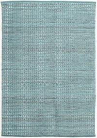 Alva - Turquoise/Valkoinen Matto 0X0 Moderni Käsinkudottu Vaaleansininen/Tumma Turkoosi (Villa, Intia)