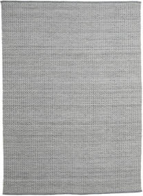 Alva - Tummanharmaa/Valkoinen Matto 250X350 Moderni Käsinkudottu Vaaleanharmaa/Tummanharmaa Isot (Villa, Intia)