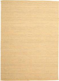 Alva - Tumma _Gold/Valkoinen Matto 250X350 Moderni Käsinkudottu Tummanbeige/Vaaleanruskea Isot (Villa, Intia)