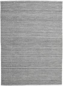 Alva - Harmaa/Musta Matto 250X350 Moderni Käsinkudottu Vaaleanharmaa/Tummanharmaa Isot (Villa, Intia)