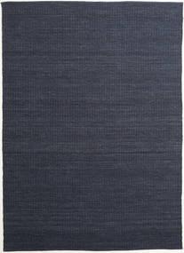 Alva - Sininen/Musta Matto 250X350 Moderni Käsinkudottu Tummansininen/Violetti Isot (Villa, Intia)