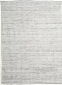 Alva - Harmaa/Valkoinen Matto 250X350 Moderni Käsinkudottu Vaaleanharmaa Isot (Villa, Intia)