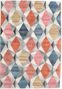 Prisma - Multi Matto 160X230 Moderni Vaaleanharmaa/Vaaleanpunainen (Villa, Intia)