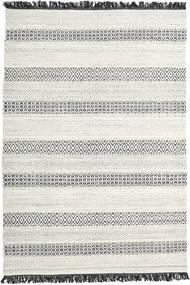 Hedda - Vaaleanharmaa Matto 160X230 Moderni Käsinkudottu Tummanbeige/Beige (Villa, Intia)