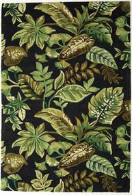 Jungel - Vihreä/Musta Matto 200X300 Moderni Tummanvihreä/Oliivinvihreä (Villa, Intia)