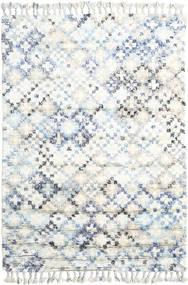 Greta Matto 160X230 Moderni Käsinsolmittu Valkoinen/Creme/Beige (Villa, Intia)