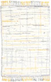 Rakel Matto 120X180 Moderni Käsinsolmittu Beige/Valkoinen/Creme (Villa, Intia)