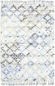 Greta Matto 120X180 Moderni Käsinsolmittu Valkoinen/Creme/Beige (Villa, Intia)