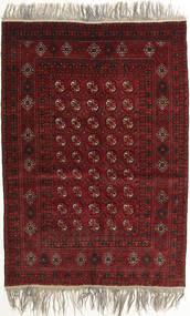 Afghan Khal Mohammadi Matto 132X182 Itämainen Käsinsolmittu Tummanpunainen/Vaaleanharmaa (Villa, Afganistan)