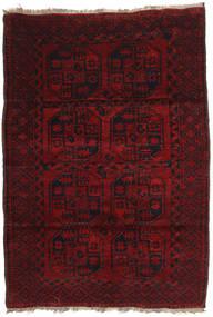 Afghan Khal Mohammadi Matto 120X173 Itämainen Käsinsolmittu Tummanpunainen (Villa, Afganistan)