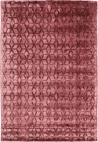Diamond - Burgundy Matto 160X230 Moderni Tummanpunainen/Ruoste ( Intia)