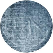 Crystal - Steel Blue Matto Ø 250 Moderni Pyöreä Tummansininen/Vaaleansininen/Sininen Isot ( Intia)