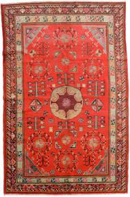 Samarkand Vintage Matto 161X250 Itämainen Käsinsolmittu Ruoste/Tummanpunainen (Villa, Kiina)